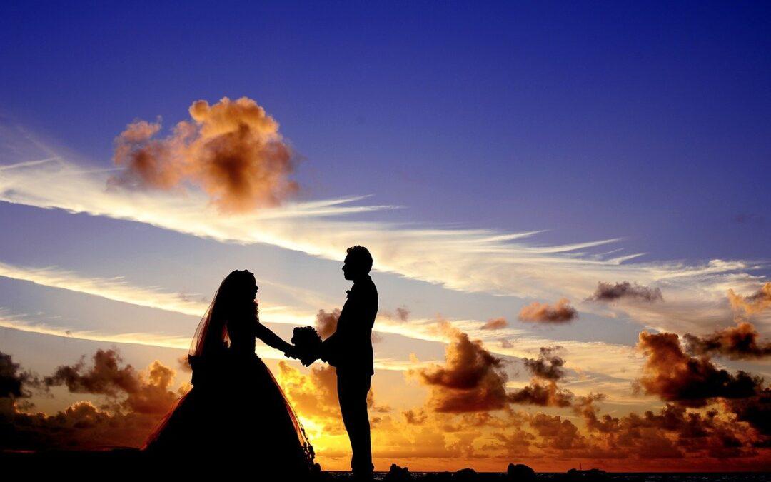 Le symbole du mariage pour les futurs mariés